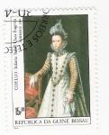Stamps Africa - Guinea Bissau -  Infanta Isabel Clara Eugenia
