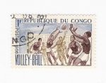 Stamps : Africa : Republic_of_the_Congo :  Volley-ball