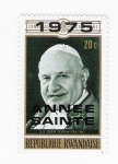 Stamps Africa - Rwanda -  Papa (repetido)