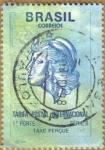 Stamps America - Brazil -  TAXE PERCUE
