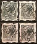 Sellos del Mundo : Europa : Italia : Moneda de Siracusa