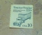 Sellos de America - Estados Unidos -  Los primeros transportes usa.