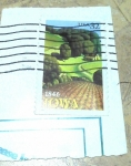 Sellos de America - Estados Unidos -  Iowa