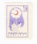 Stamps Asia - Turkey -  Flor