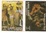 Sellos de Asia - Emiratos Árabes Unidos -  Ajman State