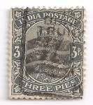 Sellos de Asia - India -  Jorge V