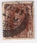 Stamps India -  jorge VI