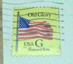 Sellos de America - Estados Unidos -  Flag  old glory