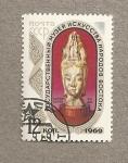 Sellos de Europa - Rusia -  Cabeza de una diosa
