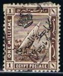 Stamps Egypt -  Scott  78  Barcos del Nilo