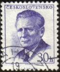 Sellos de Europa - Checoslovaquia -  ANTONIN NOVOTNY