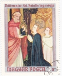 Stamps Hungary -  Bati