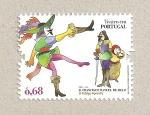 Stamps Portugal -  Teatro en Portugal