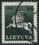 Sellos del Mundo : Europa : Lituania : S415 - Caballero blanco