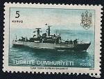 Sellos de Asia - Turquía -  Minador naval