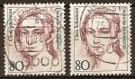 Stamps Germany -  Retrato de personajes-Clara Schumann(pianista)