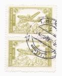Stamps Asia - Afghanistan -  aerolineas afganas