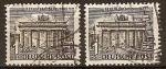 Sellos del Mundo : Europa : Alemania : Ocupación aliada 1948-Edificios(puerta de Brandemburgo-Berlin)
