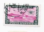Stamps Asia - Afghanistan -  aeropuerto internacional de kabul