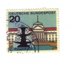 Stamps : Europe : Germany :  Balneario de Wiesbaden