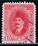 Stamps Egypt -  Scott  97  Fuad (2)