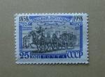 Stamps Russia -  Ordyn Natshokin y trineo de correo.