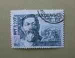 Sellos de Europa - Rusia -  Personajes Rusos. Abay Kunanbaev (1845 - 1907 ) Poeta.