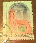 Sellos de Europa - Polonia -  Romanesque style church 11-12th. Cent