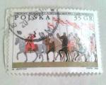 Sellos de Europa - Polonia -  Polish natl. Anthem bicent.