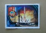 Stamps Russia -  Base Baikonur