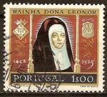 Sellos de Europa - Portugal -  Reina Leonor (1458-1525)