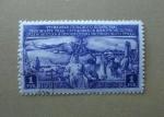 Stamps Russia -  Ovejas, ganado y granjera.