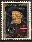 Sellos del Mundo : Europa : Portugal : 5 ºCent. de la muerte del Infante Enrique (1460-1960).Infante Don Enrique.