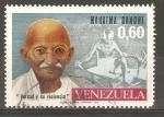 Sellos de America - Venezuela -  MAHATMA   GANDHI
