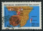 Sellos de Africa - Madagascar -  S791 - 25 Aniv. Organizazión del Cafe