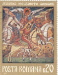 Stamps Romania -  Moldovita
