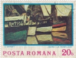 Stamps Romania -  C. Monet