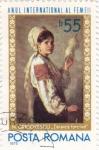 Sellos de Europa - Rumania -  Año Internacional de la Mujer-N.Grigorescu