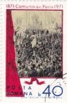 Stamps Romania -  Comuna de  París 1871 -