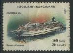 Stamps Madagascar -  S1250 - Crucero japonés
