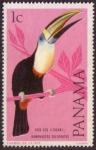 Stamps : America : Panama :  Pico Feo (Tucan)