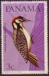 Stamps Panama -  Carpintero