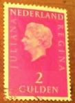 Sellos de Europa - Holanda -  Queen juliana type regina big