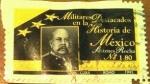 Sellos de America - M�xico -  Militares de la decada de mexico