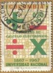 Sellos de America - Colombia -  Congreso de Calculo Electronico