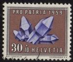 Stamps Switzerland -  PRO-PATRIA 1959