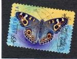 Sellos de Oceania - Australia -  foto mariposa