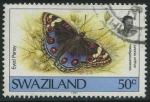 Stamps Africa - Swaziland -  S608 - Mariposas