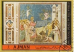 Sellos de Asia - Emiratos Árabes Unidos -  Giotto