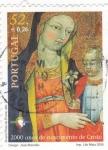 Stamps Portugal -  2000  anos do nacimento de Cristo